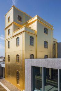 Fondazione-Prada-gold-leaf-Milan-pigmentti