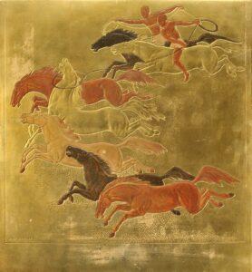 jean-dunand-La conquête-du-cheval