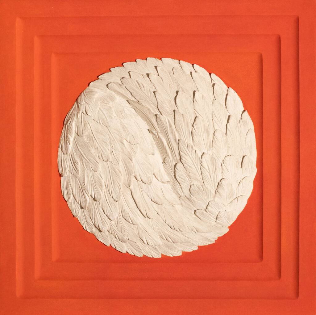 contemporary-relief-art-bacons-wings-3-pigmentti