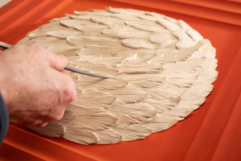 contemporary-relief-art-bacons-wings-pigmentti